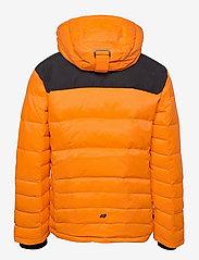 Skogstad - Selvågen down jacket - outdoor- & regenjacken - jaffa orange - 2