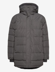 Skogstad - Nydalen long down jacket - trainingsjacken - new antracite - 1