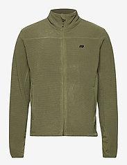 Skogstad - Åelva fleece jacket - basic-sweatshirts - four leaf - 0
