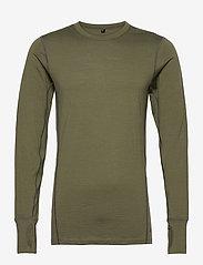 Skogstad - Leknes merino wool sweater - basic-strickmode - four leaf - 0