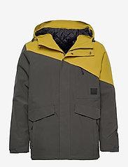 Skogstad - Holsen 2-layer technical jacket - outdoor- & regenjacken - dark grey - 0
