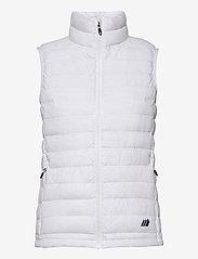 Skogstad - Dalen Vest - puffer vests - white - 0