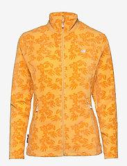 Tinnhølen Microfleece Jacket - GOLD CREAM PR