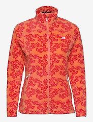 Tinnhølen Microfleece Jacket - MELON PR