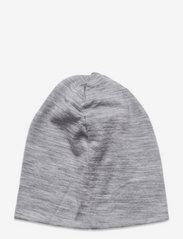 Skogstad - Aske merino wool hat - beanie - casio grey - 1