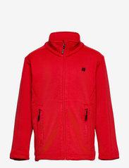 Ervadalen technical fleece jacket - HIGH RISK RED