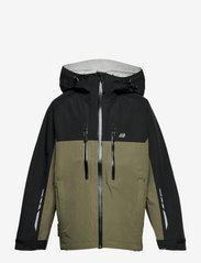 Skogstad - Skarfjellet 2,5-layer technical shell jacket - shell- & regenjassen - four leaf - 0