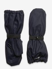 Skogstad - Vigra PU rain mittens - handsker & vanter - dark navy - 0