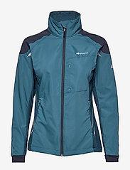 Skogstad - Vetvika Training Jacket - softshell-jackor - real teal - 1