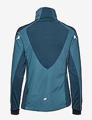 Skogstad - Vetvika Training Jacket - softshell-jackor - real teal - 2