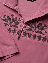Skogstad - Bondalen Microfleece half-zip - fleecetøj - heather rose - 2