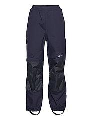 Plain 2-layer technical trouser - PRIME NAVY