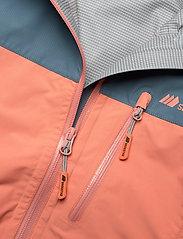 Skogstad - Lesja  2,5-Layer Technical Shell Jacket - kurtka typu shell - orange mist - 3