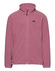Stien fleece jacket - HEATHER ROSE