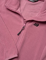 Skogstad - Stien fleece jacket - sweatshirts - heather rose - 2