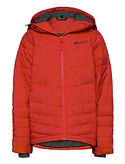Hureset down jacket - CHERRY TOMATO