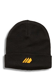 Andebu knitted hat - BLACK