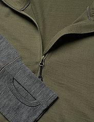 Skogstad - Røstene merino wool half-zip - termo undertrøje - four leaf - 2