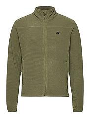 Åelva fleece jacket - FOUR LEAF