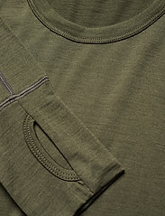 Skogstad - Leknes merino wool sweater - basic-strickmode - four leaf - 2