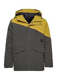Holsen 2-layer technical jacket - DARK GREY