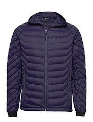 Salen light down jacket - PRIME NAVY