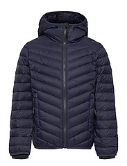 Haukenes Light Down Jacket - PRIME NAVY