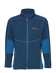 Troms  Microfleece Jacket - BLUE TEAL