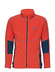 Troms  Microfleece Jacket - CHILLI