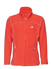 Tresfjord  Microfleece Jacket - HOT FIRE