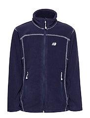 Tresfjord  Microfleece Jacket - PRIME NAVY
