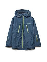 Skjomtind 2-layer technical jacket - BLUE TEAL