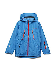 Skjomtind 2-layer technical jacket - PRIMARY BLUE