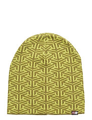 Maradalen knitted hat - ACID LIME PR