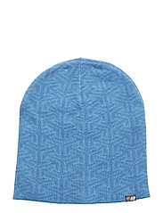 Maradalen knitted hat - BRIGHT CYAN PR
