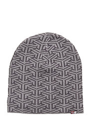 Maradalen knitted hat - STEEL PR