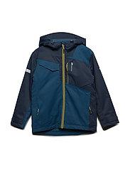 Hjellvika 2-layer technical jacket - BLUE TEAL
