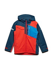 Hjellvika 2-layer technical jacket - CHERRY TOMATO