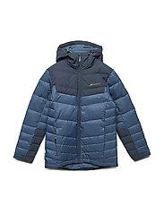 Huruset down jacket - BLUE TEAL