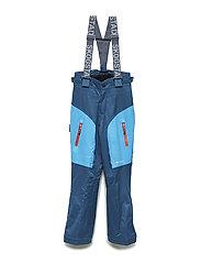 Gaustadblikk 2-layer technical ski trousers - BLUE TEAL