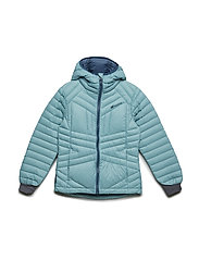 Kvia down jacket - BRISTOL BLUE