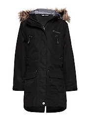 Smådalane 2-layer technical coat - BLACK