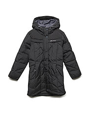 Meholmen down coat - BLACK