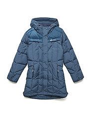 Meholmen down coat - BLUE TEAL