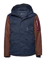 Berge 2-layer technical jacket - ANTRACITT