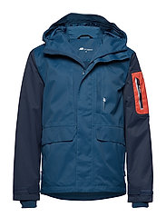 Berge 2-layer technical jacket - BLUE TEAL