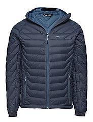 Salen light down jacket - ANTRACITT