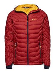 Salen light down jacket - TERRACOTTA