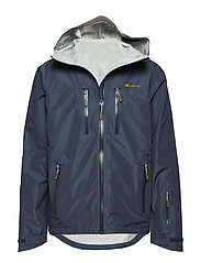 Kirkestinden 2,5-layer technical shell jacket - ANTRACITT