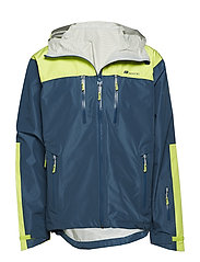 Kirkestinden 2,5-layer technical shell jacket - BLUE TEAL